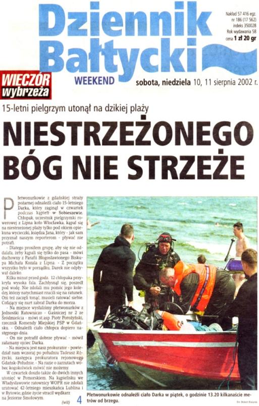 Dziennik Bałtycki 10-11.08.2002