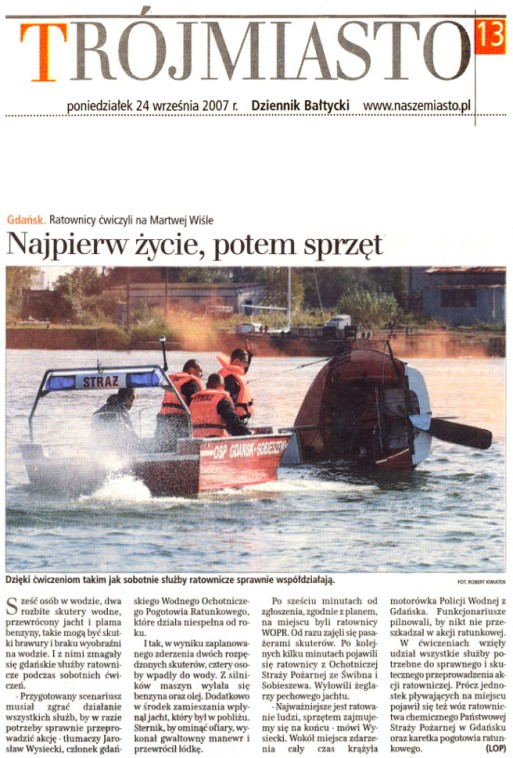 Dziennik Bałtycki 24.09.2007