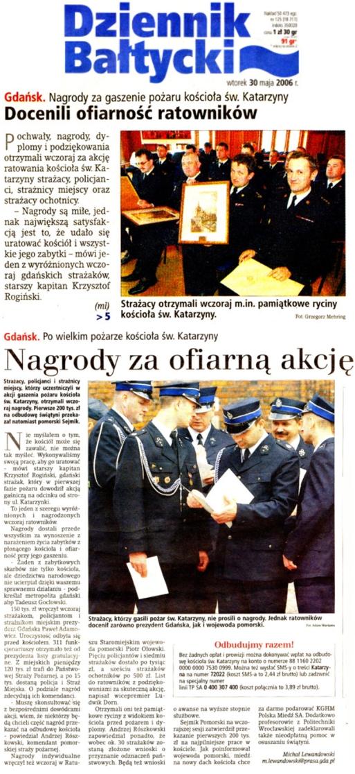 Dziennik Bałtycki 30.05.2006