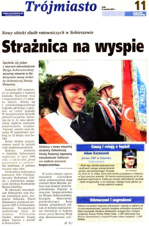 Dziennik Bałtycki 19.09.2001