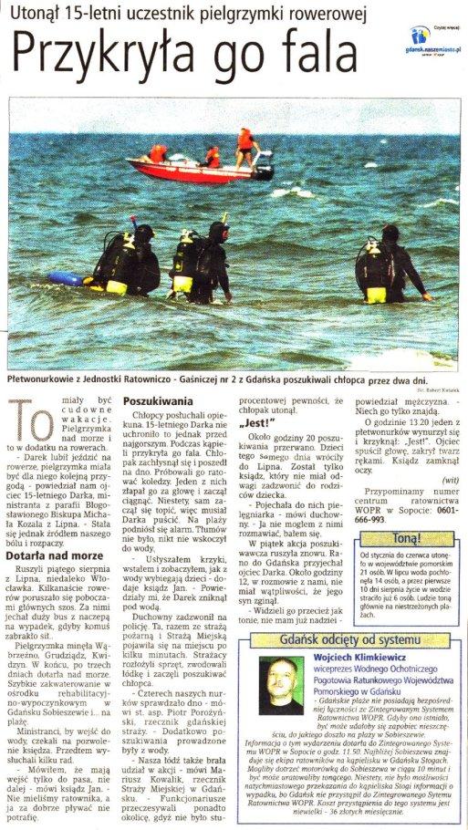 Dziennik Bałtycki 08.2001