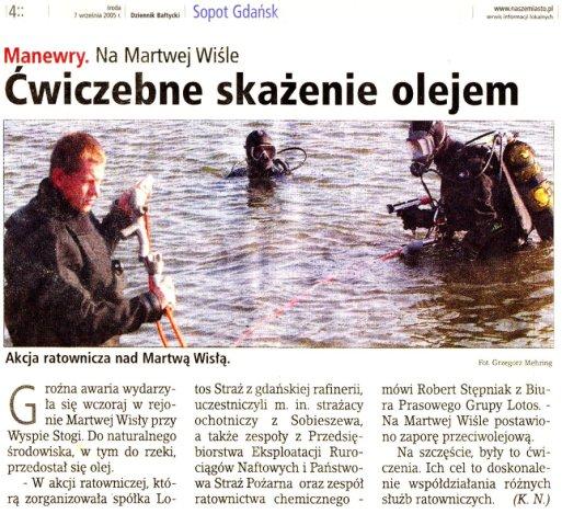 Dziennik Bałtycki 7.09.2005